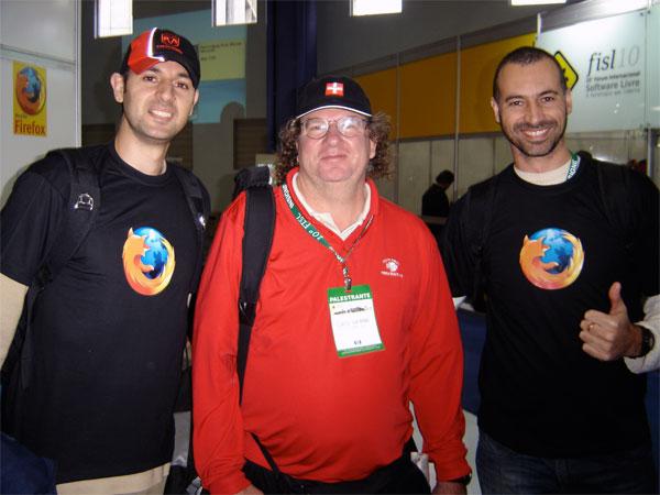 Fernando, Chris Hofmann e Mauricio.
